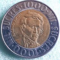 ECUADOR : 1000 SUCRES 1996 KM 103  Br. UNC - Ecuador