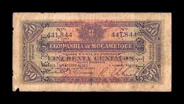 Mozambique Beira 50 Centavos 1931 Pick R26 BC F - Mozambique