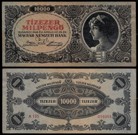 HUNGARY BANKNOTE - 10000 PENGO 1946 P#126 VF (NT#05) - Hungary