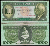 HUNGARY BANKNOTE - 1000 FORINT 1996 P#176c F/VF (NT#05) - Hungary
