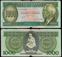 HUNGARY BANKNOTE - 1000 FORINT 1996 P#176c VG/F (NT#05) - Hungary