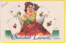 Buvard Chocolat Lacroix Tourcoing Illustrateur - Cocoa & Chocolat