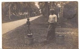 MALAYSIA  PHOTOGRAPHY POST-CARD POSTALLY STAMPS IPOH 1914 PENANG 6/130 D4 - Malaysia