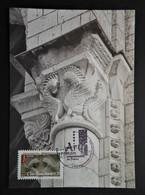 Carte Maximum L'Ile-Bouchard  Art Roman AA 459 - Ohne Zuordnung