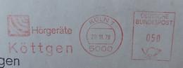 Hörgeräte Köttgen 5000 Köln 1978 - Medicina
