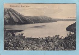 ROTOKAKAHI  OR  GREEN  LAKE  - - New Zealand
