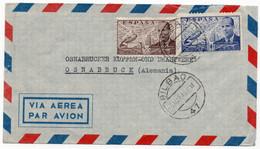 Enveloppe -  Coreo Aerio Bilbao A Osnabrücker Kupfer-und Drahtwerk  Osnabrück /Deutschland 1949 - 1951-60 Storia Postale