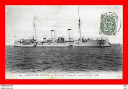 """CPA BATEAUX. Marine De Guerre. Croiseur De 1er Classe """" LE CASSINI """"...S2164 - Guerra"""