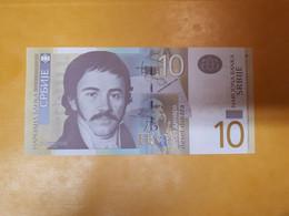 SERBIE 10 DINARA BILLET NEUF - Serbia