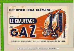 BUVARD  : Le Chauffage Au GAZ (2 Personnes ) - Electricity & Gas