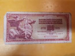 YOUGOSLAVIE 100 DINARA 1981 - Yugoslavia
