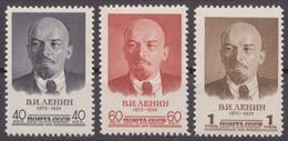 Russia Russland 1958 Mi 2071-2073 MNH OG - Unused Stamps