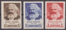 Russia Russland 1958 Mi 2077-2079 MNH OG - Unused Stamps