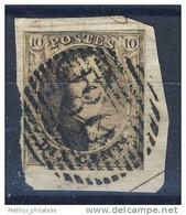 D - [DEL-218-4]TB//-N° 6A Obl 'P80' Marchienne TB Nipa +250 - 1851-1857 Medallones (6/8)