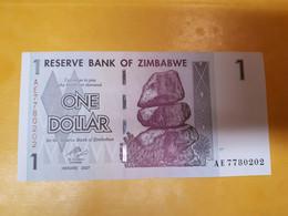 ZIMBABWE 1 DOLLAR 2007 BILLET NEUF - Zimbabwe
