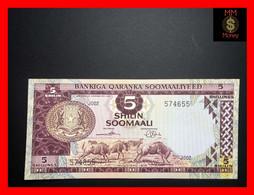 SOMALIA 5 Shilin Soomaali 1975 P. 17  *scarce Note*   AU \ UNC - Somalia