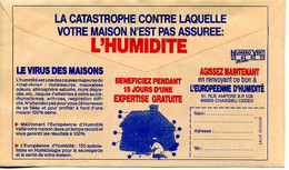 CCP Publicitaire La Poste,humidité Le Virus Des Maisons,rhumatismes,arthrose,respiration Difficile,moisissures - Environment & Climate Protection