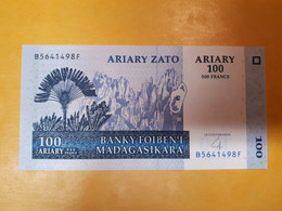 MADAGASCAR 100 ARIARY 2004 BILLET NEUF - Madagascar