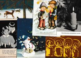 Lot 243 Ansichtskarten, Motiv Weihnachten Und Neujahr, Fast Nur Aus Deutschlandviel - 100 - 499 Postkaarten