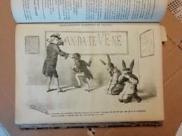 CASSANDRINO - SATIRA POLITICA 1872-1873 -16 NUMERI ANNO 2 E 101 NUMERI ANNO 3 - Old Books