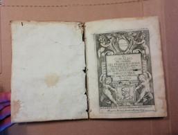 IL CORALBO DEL CAVALIER GIO FRANCESCO BIONDI CAMERINO 1632 SEICENTINA PERGAMENA - Old Books