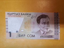 KIRGHIZISTAN 1 SOM 1999 BILLET NEUF CIRCULé - Kyrgyzstan