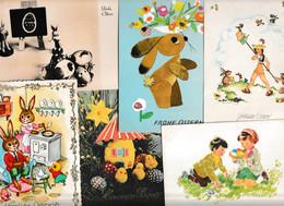 Lot 113 Ansichtskarten, Motiv Ostern, Fast Nur Aus Deutschlandviel - 100 - 499 Postkaarten