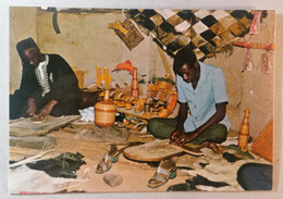 Old Etno Postcard Cooperative Des Cordonniers Pita Republique De Guinee Africa 1960's - Guinea