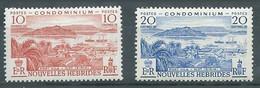 Nouvelles-Hébrides YT N°176-178 Port Vila Et Ilot Iririki Neuf/charnière * - Unused Stamps