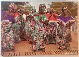 Old Etno Postcard Ensamble Instrumental De La R.T.G. Republique De Guinee Africa 1960's - Guinea