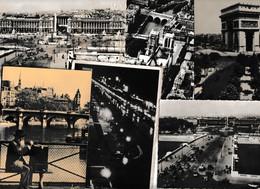 Lot 38 Ansichtskarten Paris, Nur Schwarz-weiße Karten - 5 - 99 Postkaarten