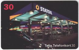 SWEDEN A-707 Chip Telia - Energy, Gasoline Station - Used - Sweden