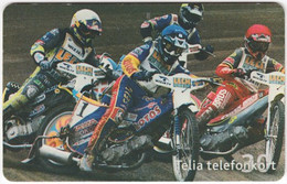 SWEDEN A-796 Chip Telia - Sport, Speedway Race - Used - Sweden