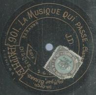 """61 ) 78 Tours 30cm  PATHE 2512  """" LA MUSIQUE QUI PASSE """"  + """" NINON JE VOUS AIME """"  BERARD / Carmen VILDEZ - 78 G - Dischi Per Fonografi"""