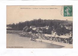 CPA :  14 X 9  -  BEAUREGARD (Ain).  -  Les Régates - Les Tribunes Devant L'Hôtel  P. Blie - Other Municipalities