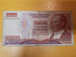 TURQUIE 20000 LIRES 1970 - Turkey