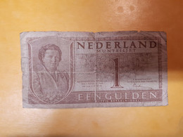 PAYS-BAS 1 GULDEN 1949 - Unclassified