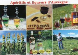 CPM - L - AUVERGNE - APERITIFS ET LIQUEURS D'AUVERGNE - Auvergne