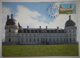 Carte Maximum  Château De Valençay  AA 1109 - Unclassified