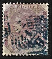 India - Scott #19 Used (1) - Heavy Cancel - 1858-79 Crown Colony