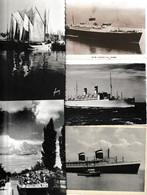 Lot 48 Ansichtskarten Motiv Schiff Und Seefahrt, In- Und Ausland - 5 - 99 Postkaarten