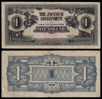 MALAYA - WWII JAPANESE GOVERNMENT BANKNOTE - 1 DOLLAR (1942) P#M5c VF (NT#05) - Other
