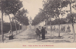 POSTAL DE REUS DEL PASEO DE NTRA. SRA. DE LA MISERICORDIA - Tarragona