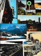 Lot 55 Ansichtskarten Motiv Eisenbahn Und Bahnhof, In- Und Ausland - 5 - 99 Postkaarten