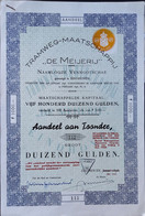 TRAMWEG MIJ DE MEIJERIJ EINDHOVEN 1955 - Ferrocarril & Tranvías