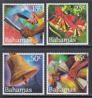 2019 Bahamas Christmas Bells Music Noel Navidad  Complete Set Of 4 MNH - Bahamas (1973-...)