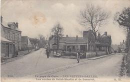 LES PETITES DALLES (Seine-Maritime): Les Routes De Saint-Martin Et De Sassetot - Other Municipalities