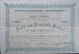 Handelscompagnie Mozambique 1875 - Sin Clasificación