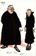 CPA ENZO VAN DOCK - L' Autorità, L'Autorité, The Authority - Umoristica, Humour, Humorous - VG - V071 - Andere Illustrators