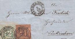 AD Thurn Und Taxis Brief 1860 13 + 14 - Thurn And Taxis